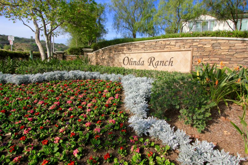 Olinda Ranch Community Marquee
