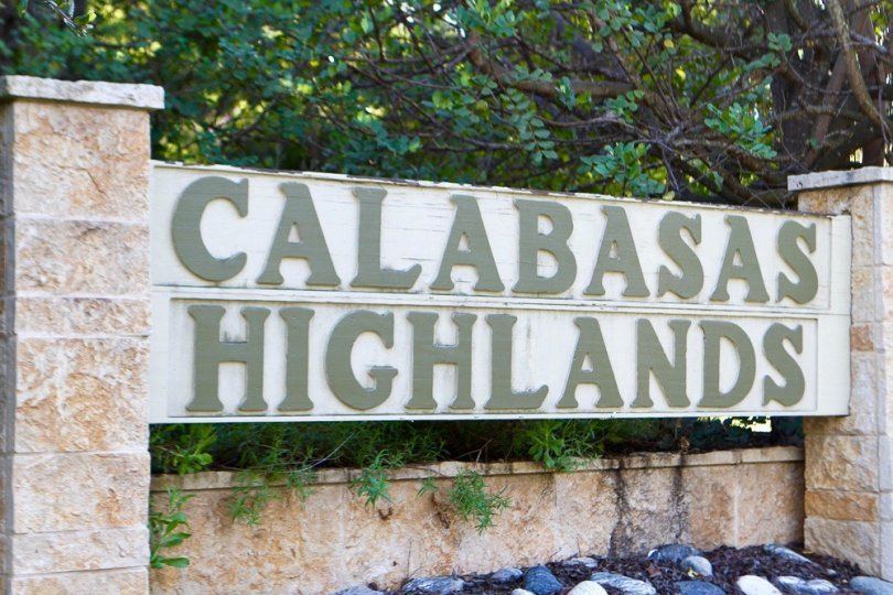 Calabasas Highlands Community Marquee