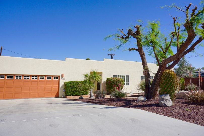 A single story home in the Cathedral City Cove community