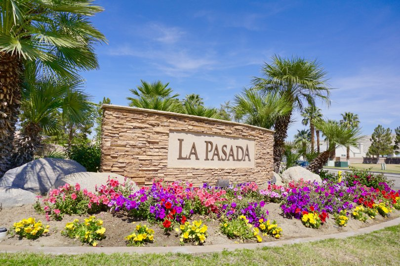 The La Pasada community marquee