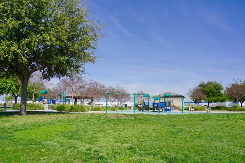 The community park at Fairfield Ranch in Chino Hills Ca