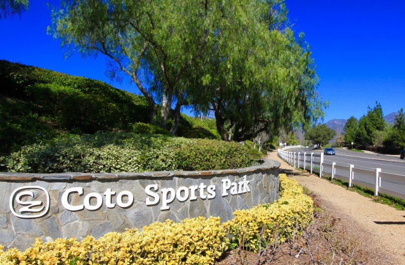 The Coto Sports & Rec Park is located close to the Crooked Oaks community of Coto de Caza