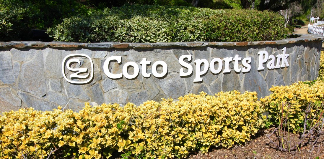 The Coto Sports & Rec Park is located close to the East Hill community of Coto de Caza