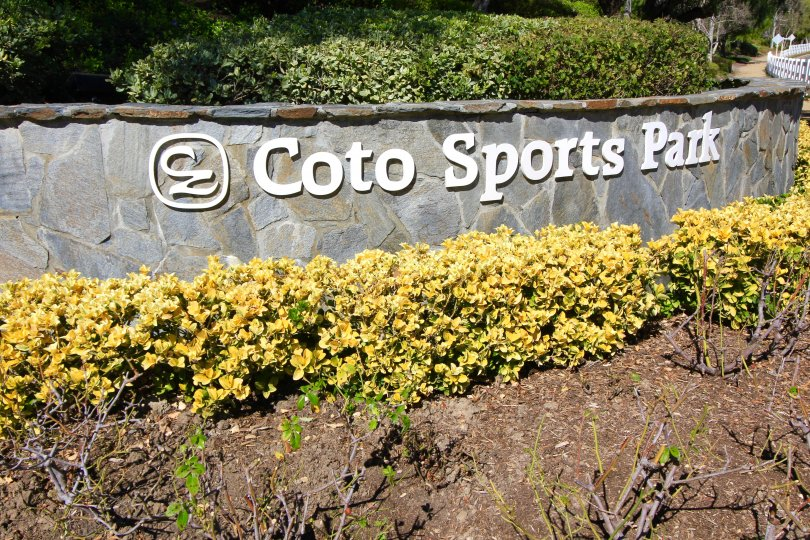 The Coto Sports & Rec Park is located close to the Glenmere community of Coto de Caza