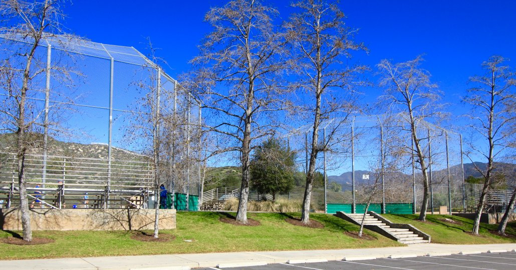 Residents of Los Verdes in Coto de Caza can enjoy several baseball diamonds at the Coto Sports Park