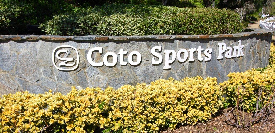The Coto Sports & Rec Park is located close to the Valle Vista community of Coto de Caza