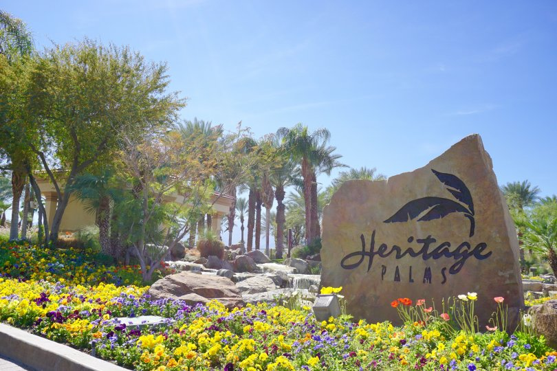 Heritage Palms Country Club Community Marquee