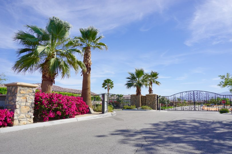 Madison Estates is a private gated community in Indio