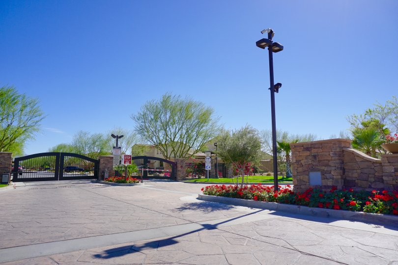 Sonora Wells is a private gated community