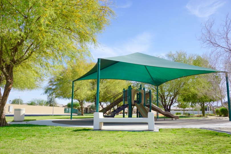 Residents of Whittier Ranch in Indio can enjoy the community park