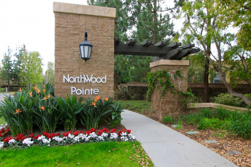 Northwood Pointe Community Marquee in Irvine Ca