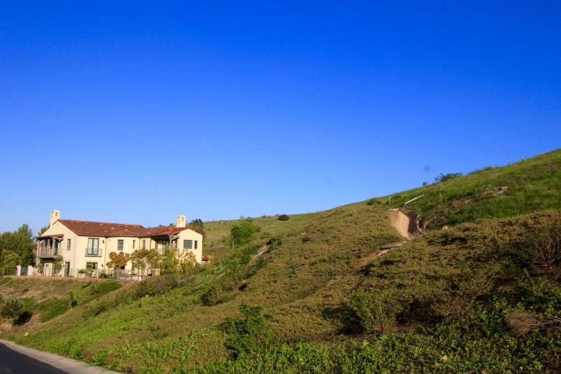 A slope within the Turtle Ridge community of Irvine