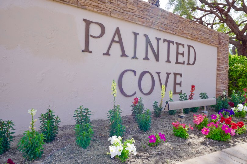 Painted Cove Community Marquee