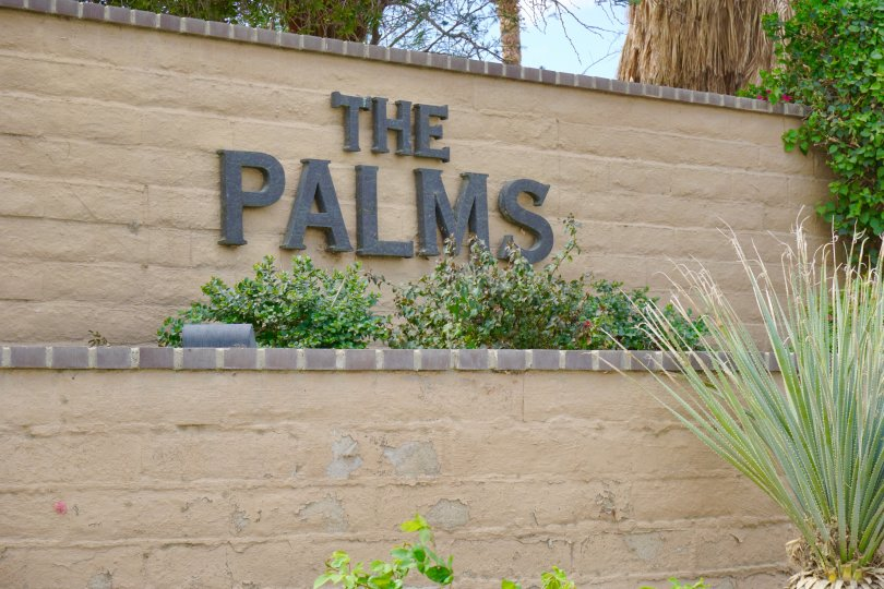 The Palms Community Marquee