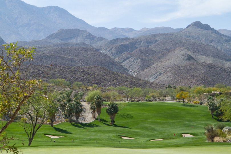 The golf course at The Quarry in La Quinta is well manicured