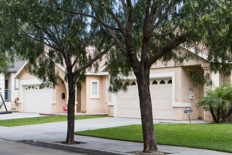 Well maintained homes in Wrigley a community of Long Beach