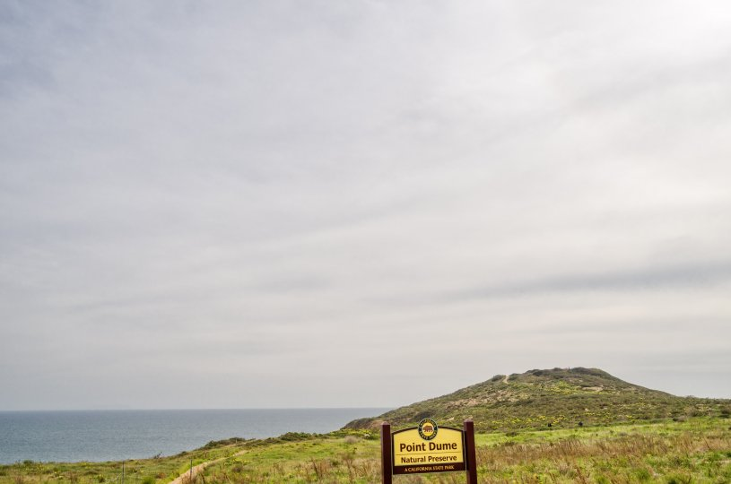 A beautiful walking trail overlooking the Pacific Ocean from Point Dume