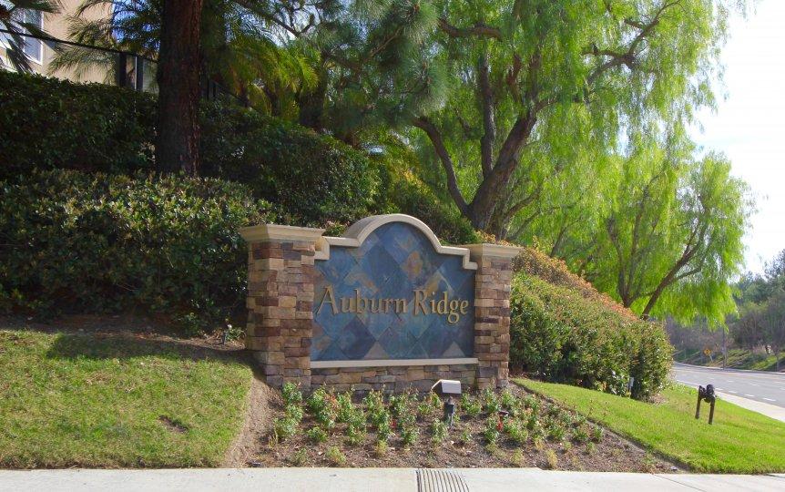 Auburn Ridge Community Marquee