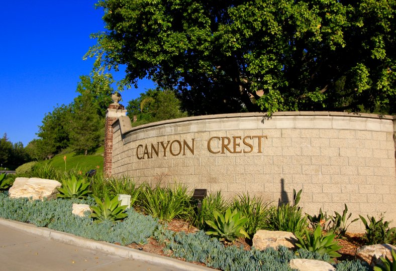 Canyon Crest Community Marquee