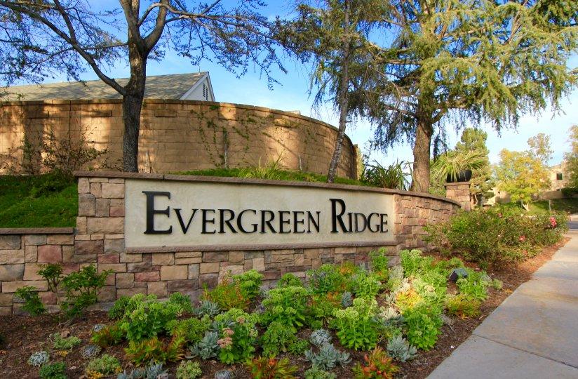 Evergreen Ridge Community Marquee