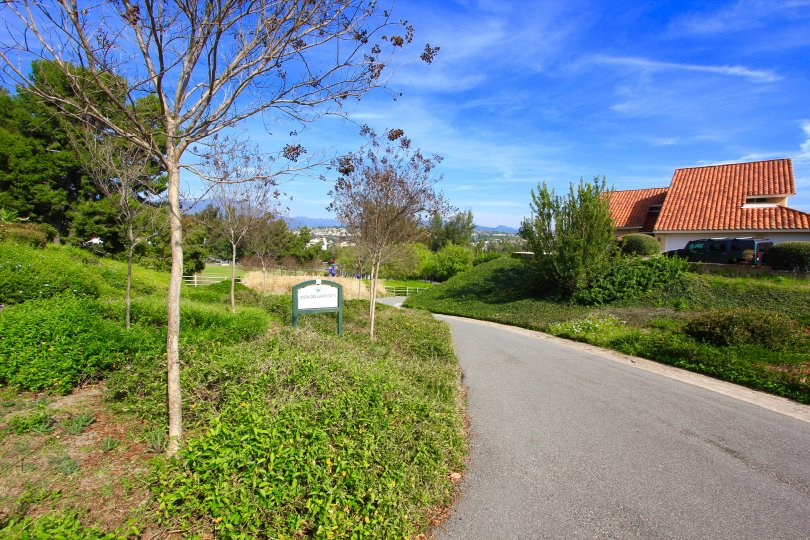 Miles of walking paths exist within Madrid Del Lago