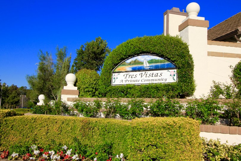 Tres Vistas Community Marquee
