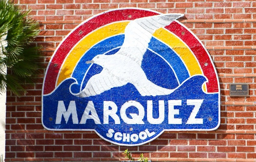 Marquez Knolls Community Marquee in Pacific Palisades Ca