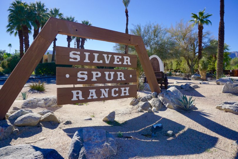 Silver Spur Ranch Community Marquee