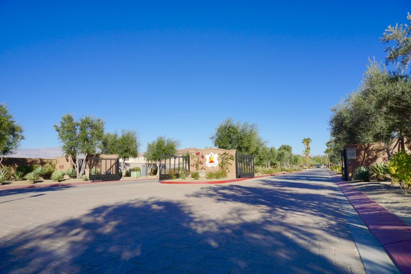 Spanish Walk is a gated community in Palm Desert