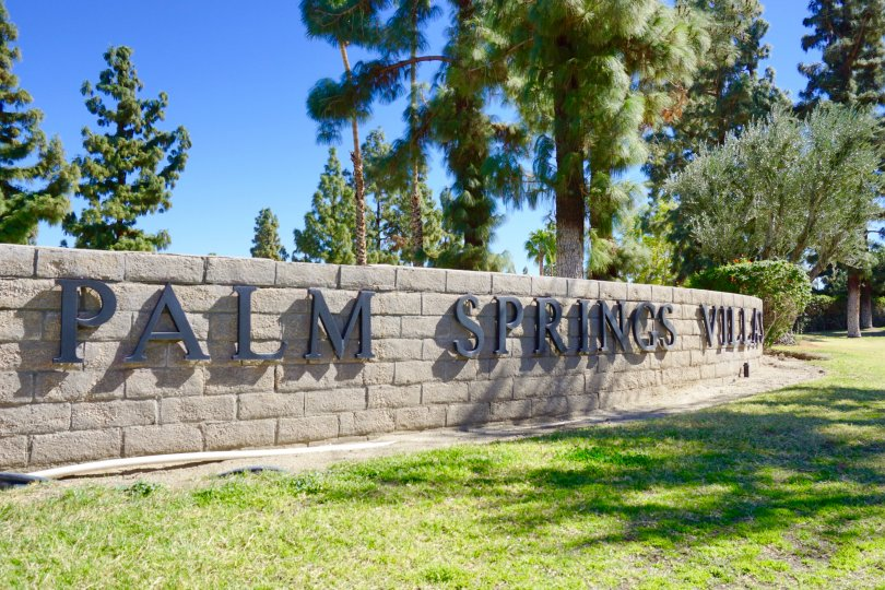 Palm Springs Villas I Community Marquee