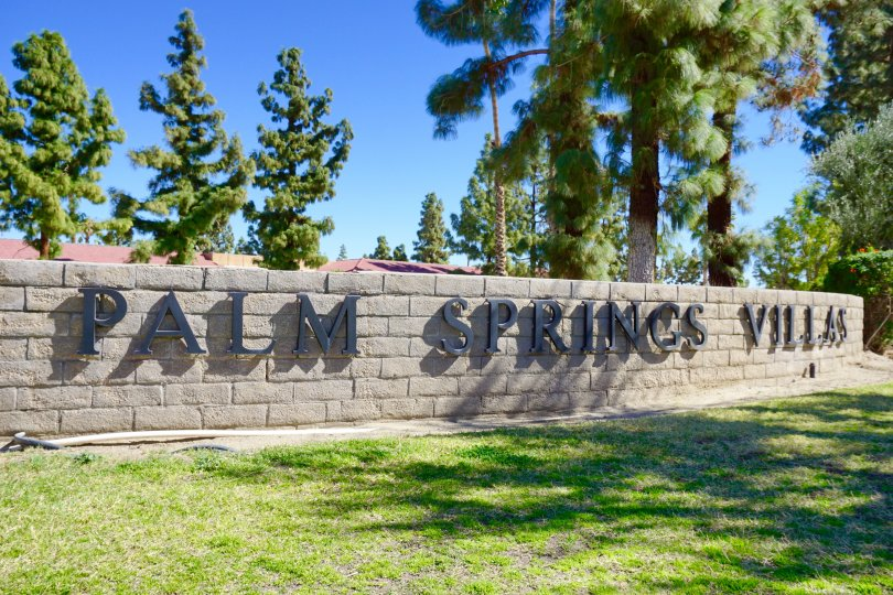 Palm Springs Villas II Community Marquee