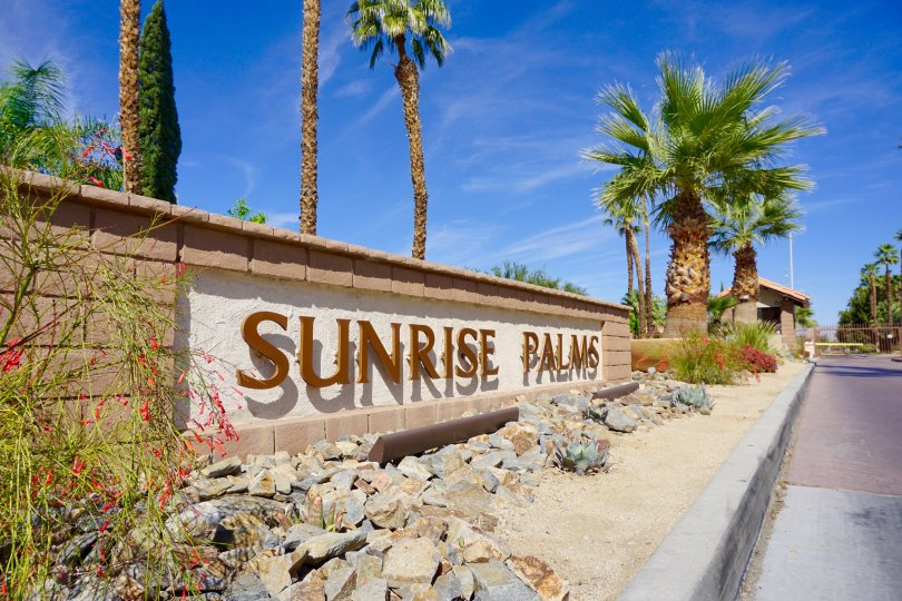 Sunrise Palms Community Marquee