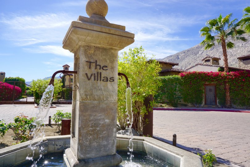 The Villas in Old Palm Springs Community Marquee