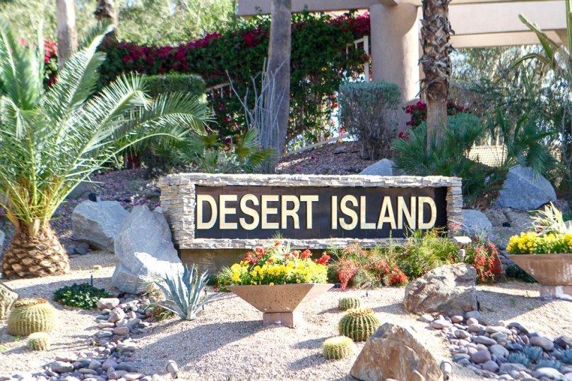 Desert Island Community Marquee