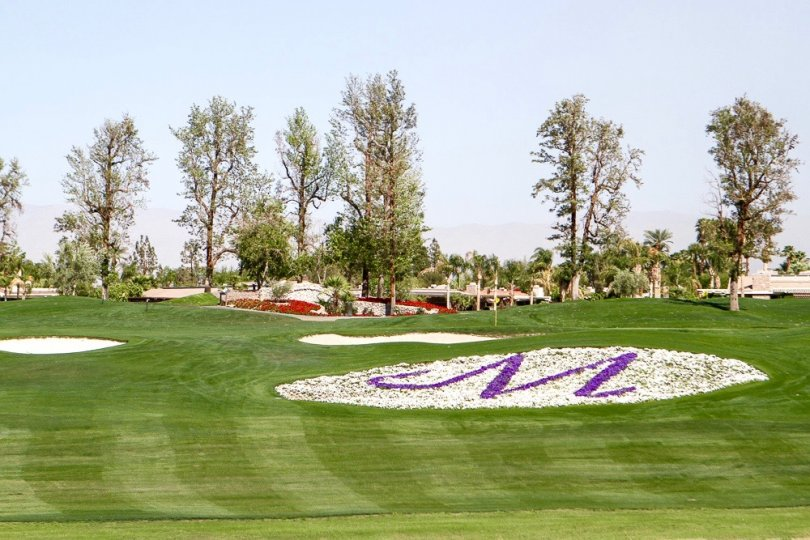 "An ""M"" on the golf course at Morningside Country Club"