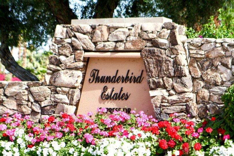 Thunderbird Country Club Community Marquee
