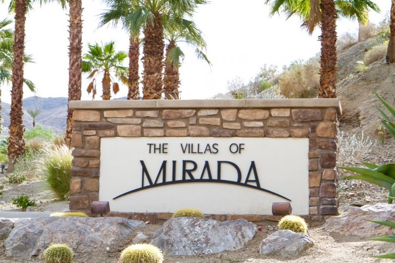 Villas of Mirada Community Marquee