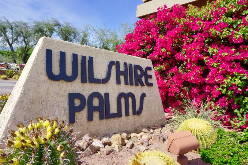 Wilshire Palms Community Marquee