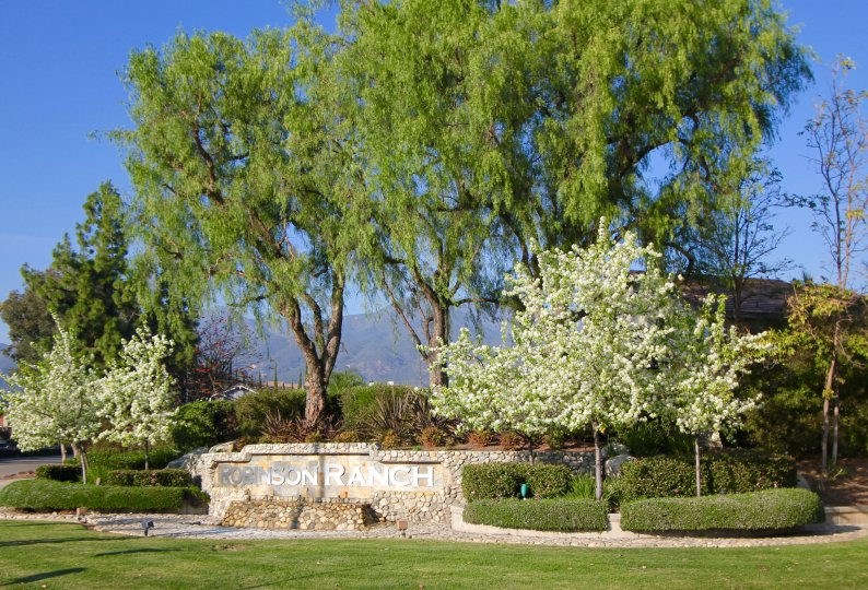 Robinson Ranch Community Marquee in Rancho Santa Margarita Ca
