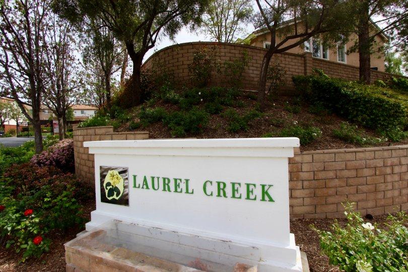 Laurel Creek Community Marquee in Temecula Ca