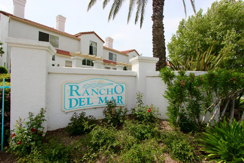 Rancho Del Mar Community Marquee in Temecula Ca