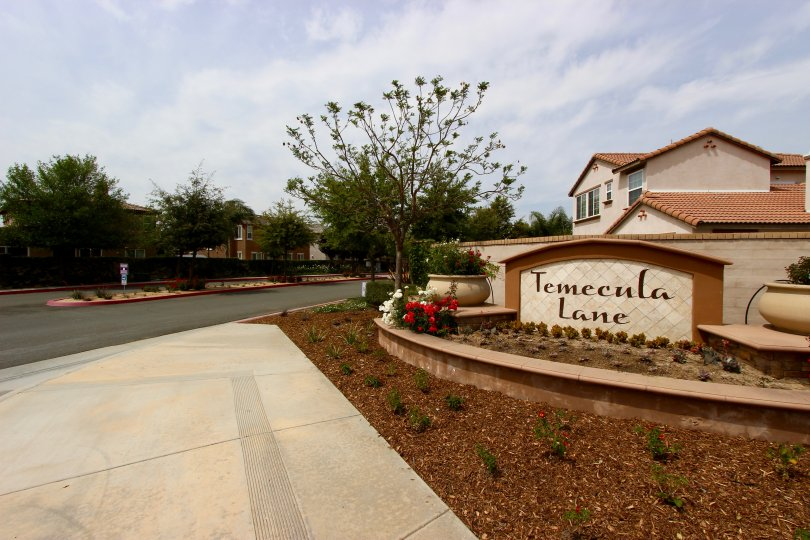 Temecula Lane Community Marquee in Temecula Ca