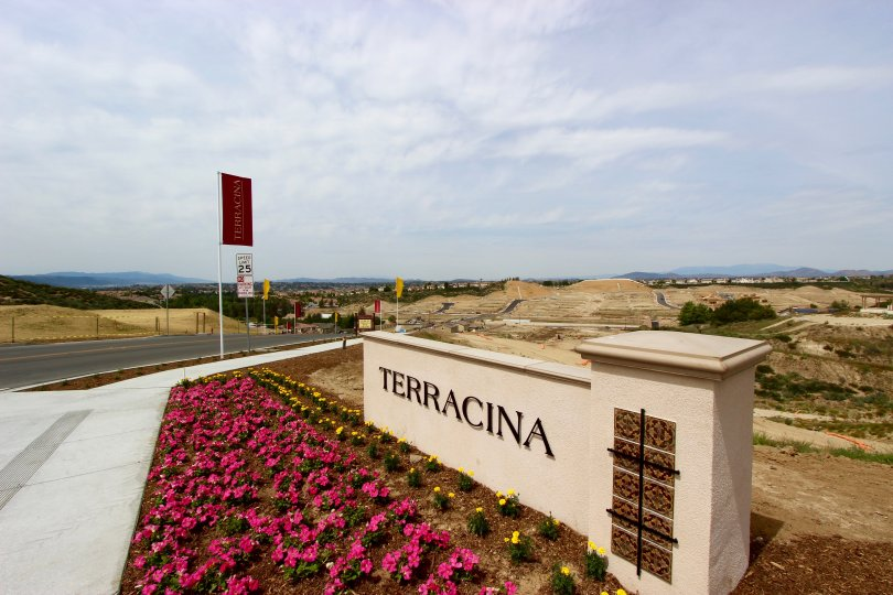 Terracina Community Marquee in Temecula Ca