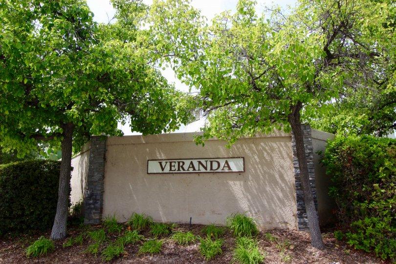 Veranda Community Marquee in Temecula Ca