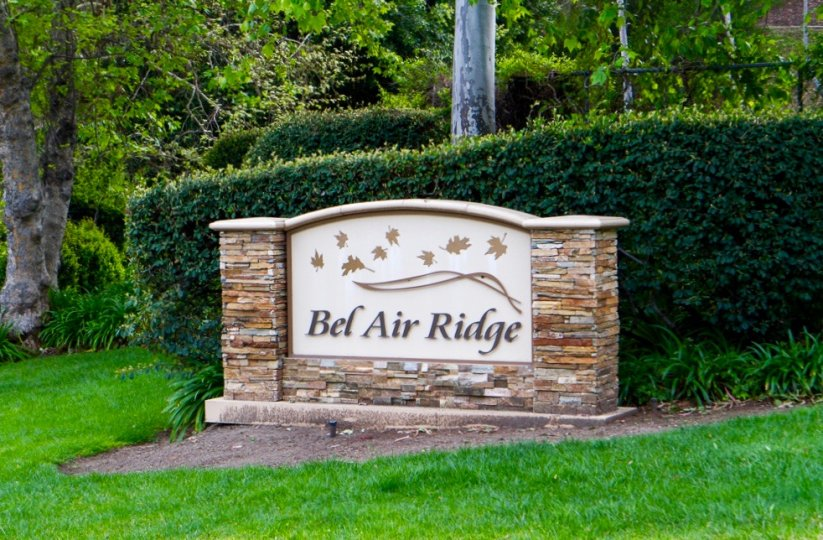 Bel Air Ridge Community Marquee