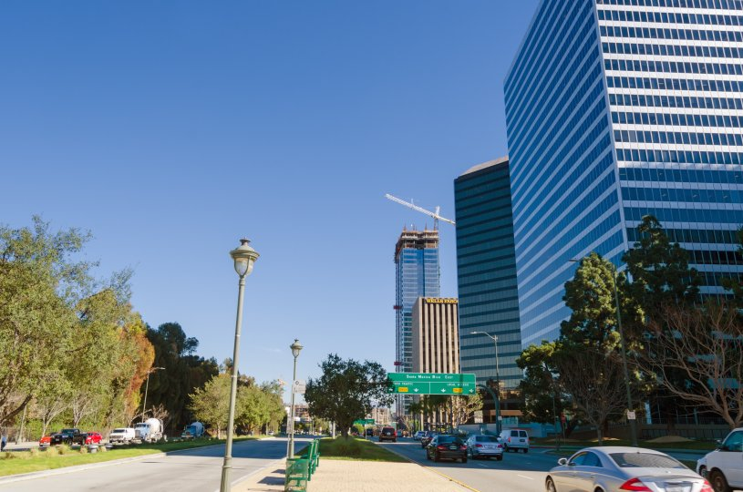Century City is homes to many condos in Los Angeles