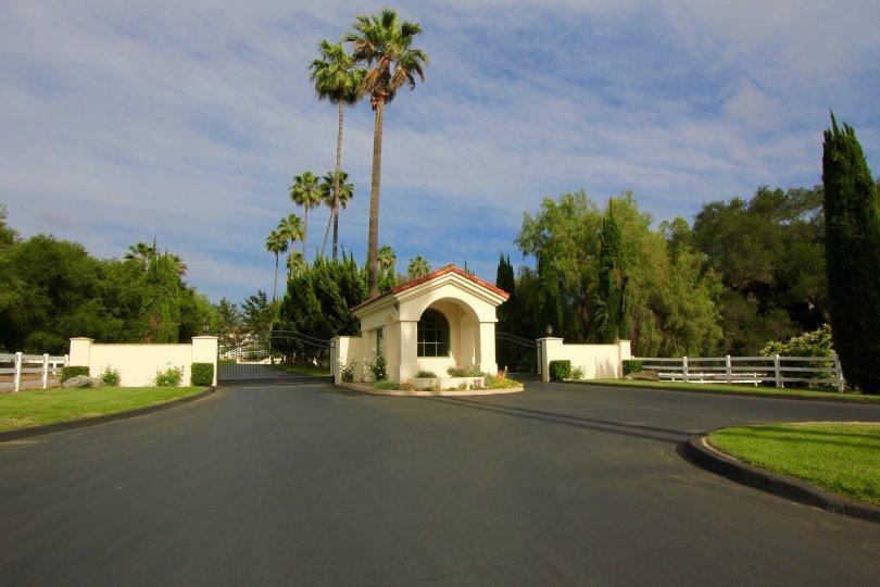 A view of the entrance of premium Saratoga Estates.