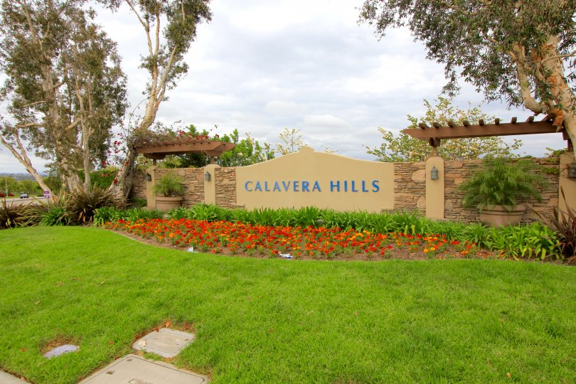 This is Calavera Hills Marquee