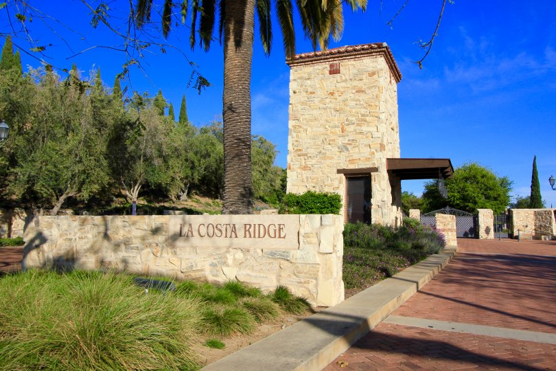 Beautiful and Creative La Costa Ridge Sign