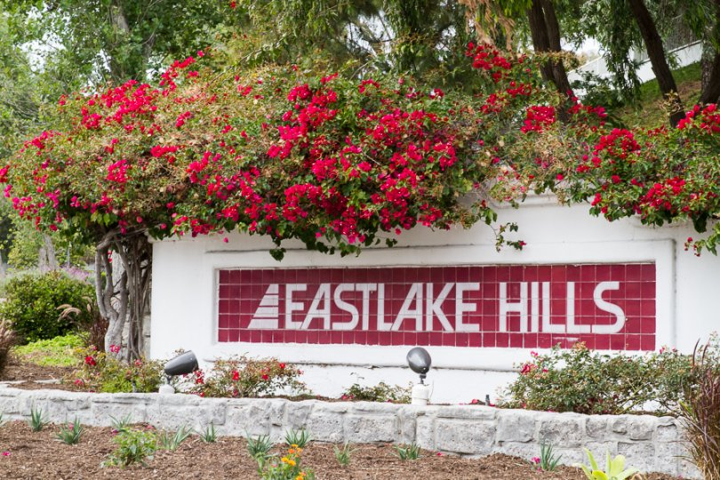 Eastlake Hills community Sign in Chula Vista California